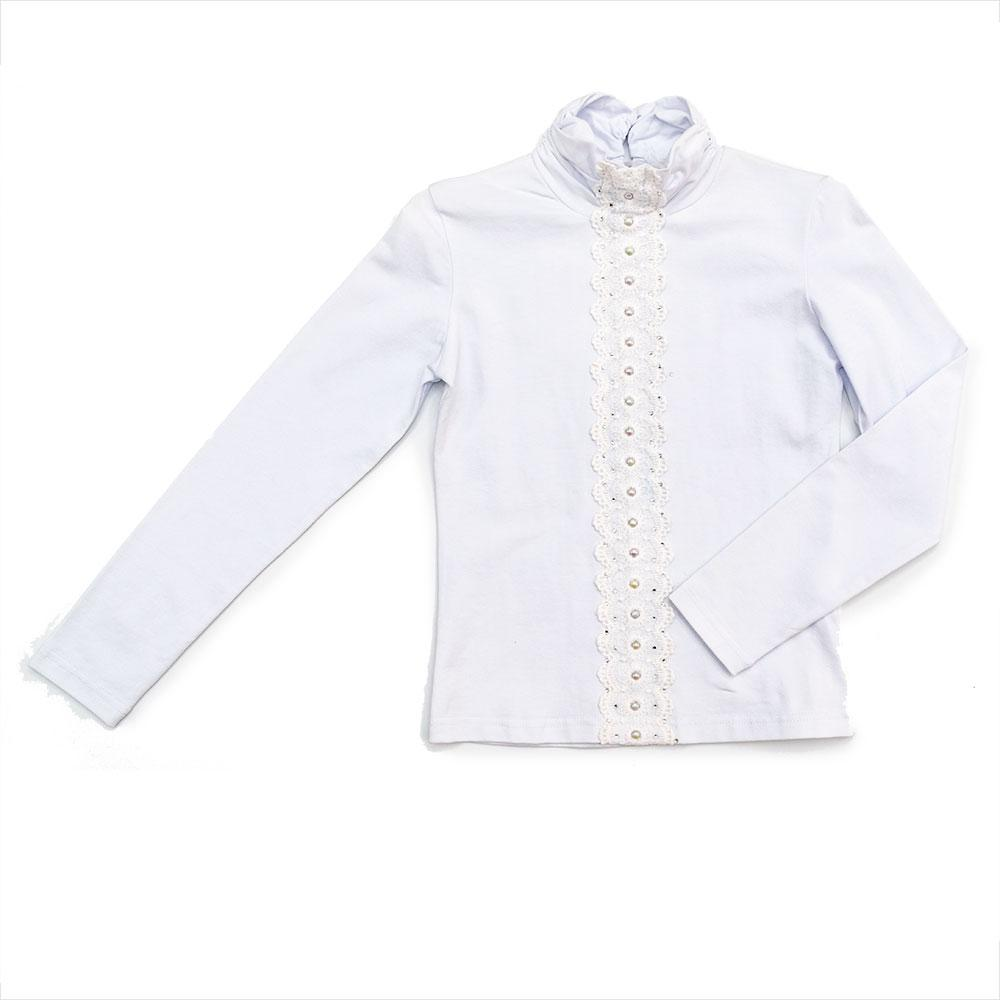 Блуза для девочек Modalora 128  белая 530107