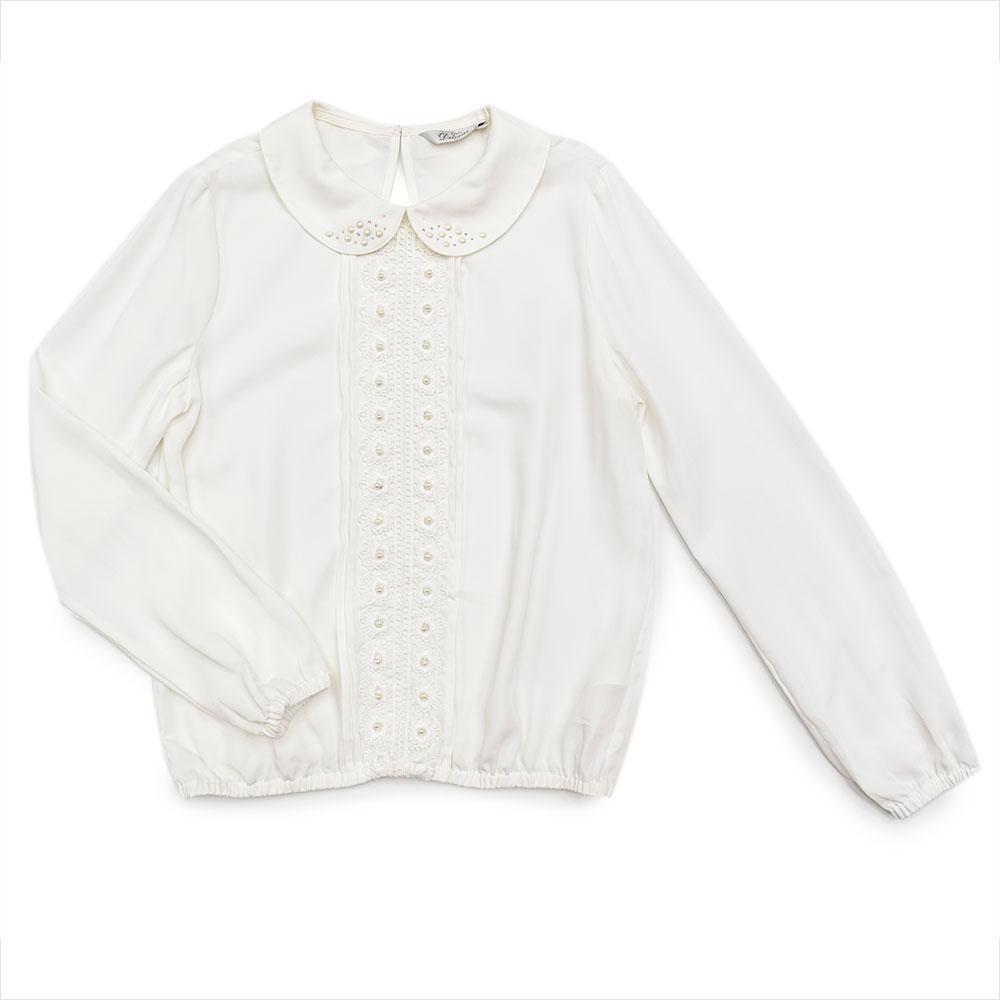 Блуза для девочек Deloras 158  молочная C61193