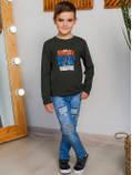 Дитяча кофта з довгим рукавом, фото 3