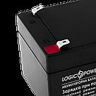 Аккумулятор кислотный AGM LogicPower LPM 12 - 3,3 AH, фото 3