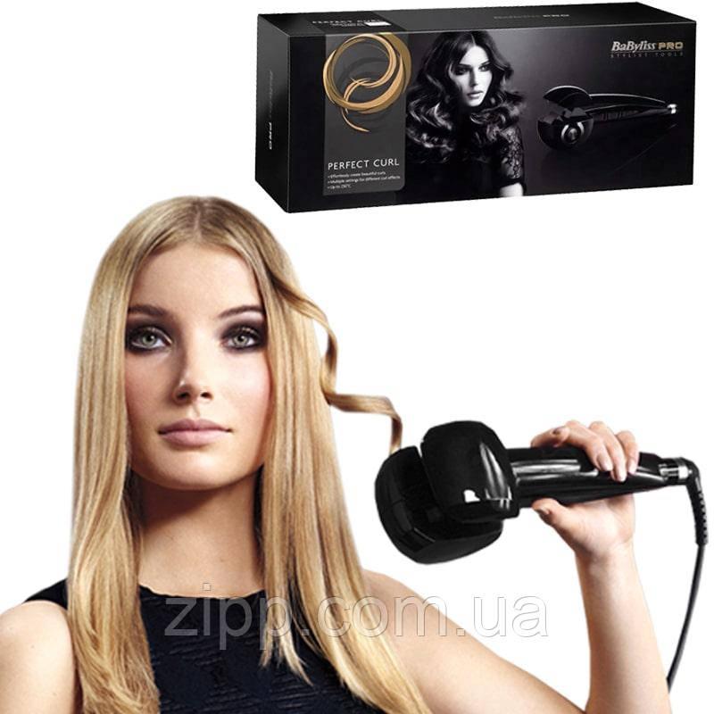 Стайлер для завивки волос Babyliss PRO beauty, плойка утюжок для локонов. Бейбилис утюжок!