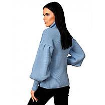 """Стильный женский свитер с рукавом """"рыбка"""",  размер универсальный 42-46, фото 2"""