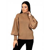 """Стильный женский свитер с рукавом """"рыбка"""",  размер универсальный 42-46, фото 3"""