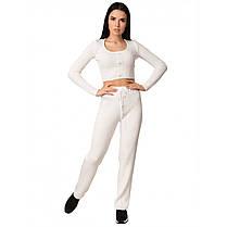 Модный костюм женский хлопковый, размер от 42 до 46, фото 3