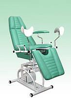Крісло гінекологічне з гідравлічним регулюванням висоти