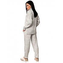 Повседневный костюм женский с брюками  размер универсальный 42-46, фото 2
