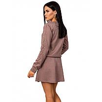 Красивый женский костюм с бусинками,  размер универсальный 42-46, фото 2