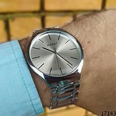 Мужские наручные часы серебристые в стиле RADO. Годинник чоловічий