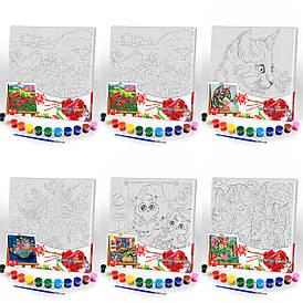 "Набор для творчества ""Canvas Painting"" 31*31см  Danko Toys"