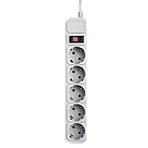 Сетевой фильтр LogicPower 5 розеток 4,5 м серый (LP-X5), фото 3