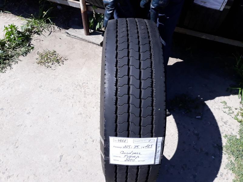 Грузовые шины б.у. / резина бу 225.75.r17.5 Goodyear Regional RHS2 Гудиер