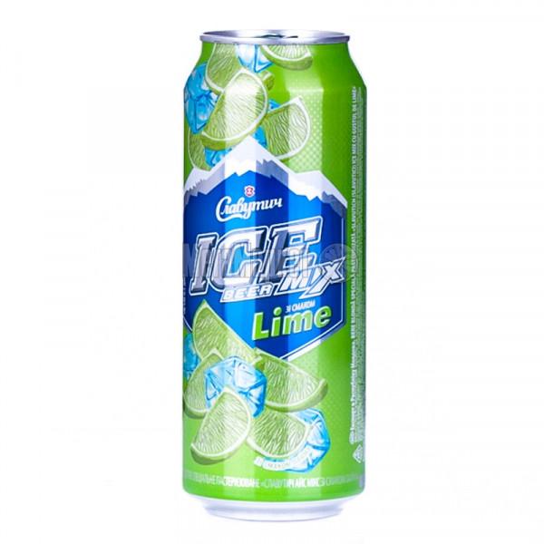 Пиво Славутич  Айс мікс Куба банка 0,5л