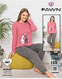 Піжама з довгими штанами, Fawn, фото 2