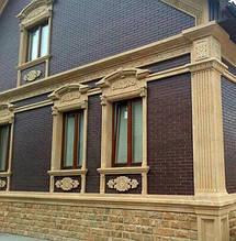Как сделать обрамление окна в доме из газобетона