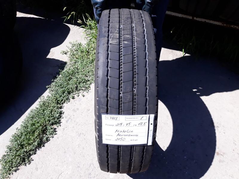 Грузовые шины б.у. / резина бу 215.75.r17.5 Michelin XZE2 Мишлен