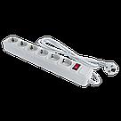 Мережевий фільтр LogicPower 6 розеток 1,8 м сірий (LP-X6), фото 3