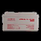Акумулятор гелевий LPU-GL 12 - 65 AH, фото 2