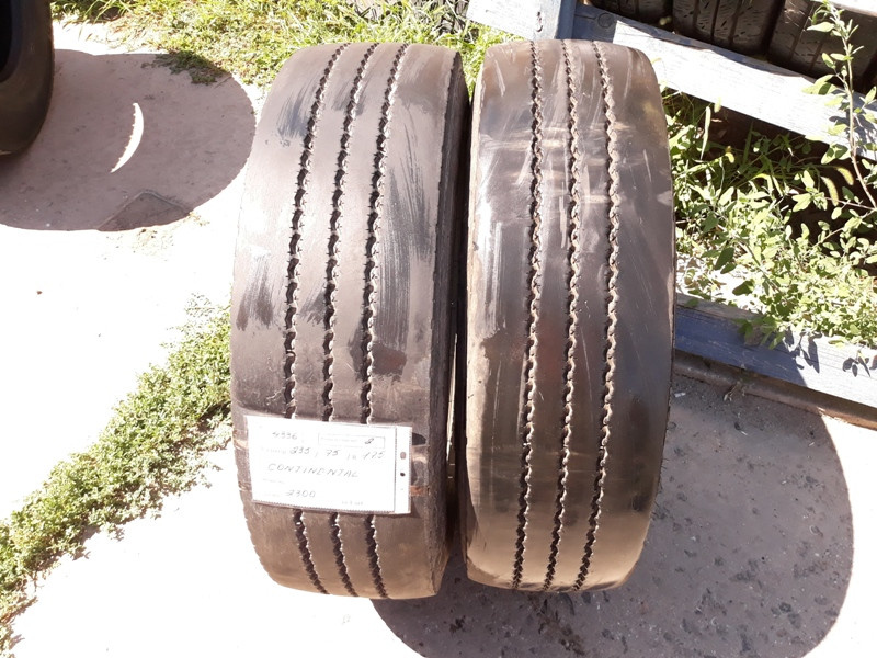 Грузовые шины б.у. / резина бу 235.75.r17.5 Continental LSR1+ Континенталь