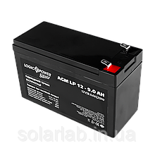Аккумулятор кислотный AGM LogicPower LP 12 - 9,0 AH SILVER