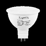 Светодиодная лампа Ilumia 5Вт, цоколь GU5.3, 4000К (нейтральный белый), 500Лм (076), фото 2