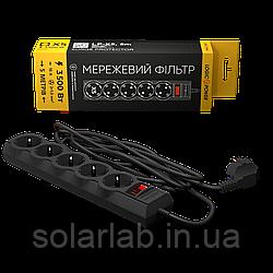 Сетевой фильтр LP-X5, 5 m Black