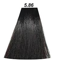 Mirella Краска для волос 5.86 светлый шатен коричнево - красный, 60 мл