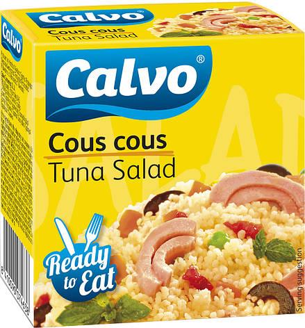 Салат з тунцем CALVO COUS COUS 150 г, фото 2