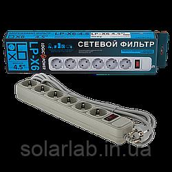 УЦ (4756) Сетевой фильтр LP-X6, 4,5 m Grey