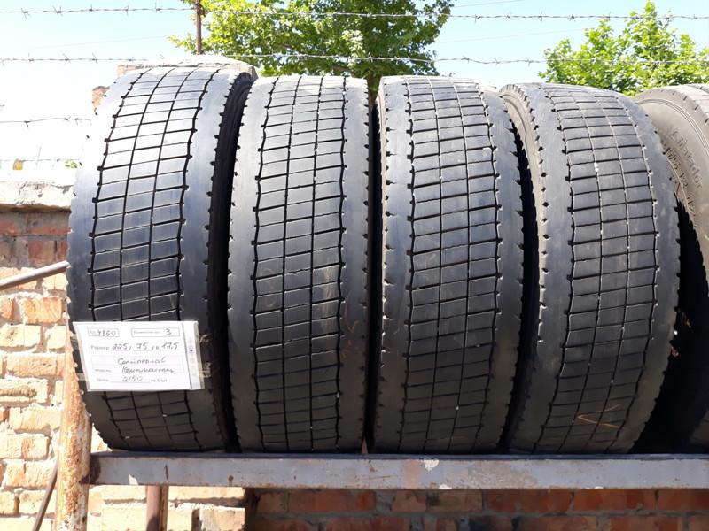 Грузовые шины б.у. / резина бу 225.75.r17.5 Continental Conti Hybrid LD3 Континенталь