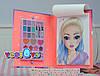 TOP Model Книга навчає макіяжу Студія Мейкап з шаблонами (ТОП Модел Набор для макияжа  Make-Up Studio 1936_A ), фото 4