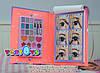 TOP Model Книга навчає макіяжу Студія Мейкап з шаблонами (ТОП Модел Набор для макияжа  Make-Up Studio 1936_A ), фото 6