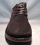 """Мужские зимние ботинки """"Dino 722-1"""" (коричневый) 44р, фото 4"""