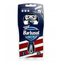 Бритвенный станок Barbasol Ultra 6 Plus Ultra ультра шесть лезвий 1шт