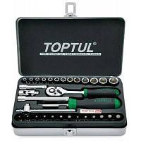 """Набор инструментов TOPTUL для автомобіліста 1/4"""" 32од. (GCAD3204)"""