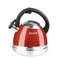 Чайник Rondell Fiero со свистком 3 л Red (RDS-498)