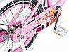 🔥✅  Велосипед Детский SPARK KIDS FOLLOWER TV1401-003 14 дюйм Розовый с Белым. Рама - Сталь!, фото 2