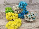 Роза маленькая латексная в букетике  12 грн., фото 6