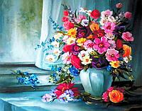 """""""Квіткові барви"""" Картина по номерам цветы Розпис за номерами"""