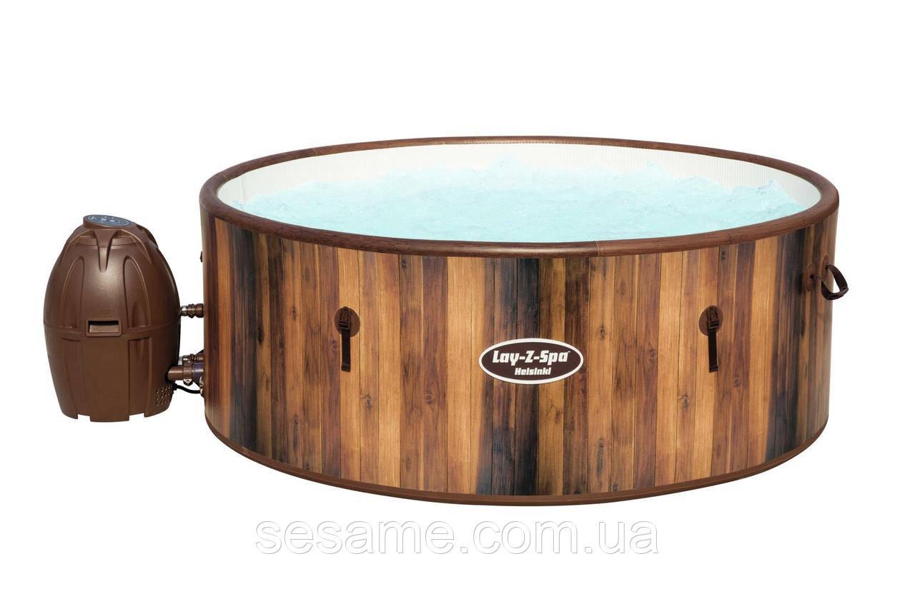 Надувной SPA-бассейн с аэромассажнной ванной для 5-7 человек Lay-Z-Spa™ Helsinki AirJet™