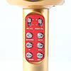 Микрофон караоке WSTER WS-1816 - беспроводной Bluetooth микрофон с cветомузыкой, слотом USB и FM тюнером, фото 6