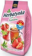 Чай гранульований з ароматом полуниці Kruger Herbatynka 300 г