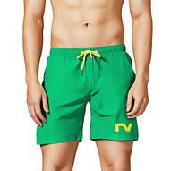 Пляжные Мужские Шорты Tauwell для купания Зеленые (Сетка, карманы) \чоловічі шорти плавання пляжні