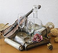 Штоф Скрипка Романтика, фото 1