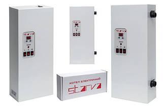 25) Котлы электрические отопления STARVA, Tenko (от 3 кВт до 15 кВт), датчики протока, радиаторы