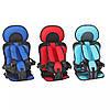 Детское автокресло-бустер  кресло для детей бескаркасное  Автокрісло