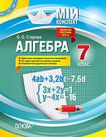 Алгебра 7 кл Мій конспект