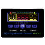 Терморегулятор XH-W1411, 12В, 10А, -55~120ºC + Датчик, фото 2