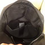 Черный молодежный рюкзак городской, фото 2