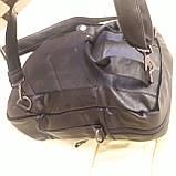 Черный молодежный рюкзак городской, фото 7