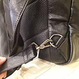 Черный молодежный рюкзак городской, фото 5
